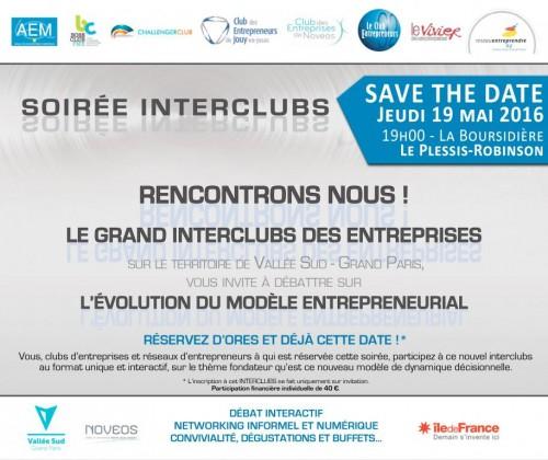 Inter Club des Entreprises - 19 mai - Le Plessis Robinson